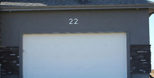 LARGE MODERN METAL HOUSE NUMBERS by HOUSE NUMBER KING Stratford Kitchener Area image 7
