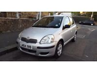 TOYOTA YARIS T3 1 OWNER FROM NEW 2004 1.0 MANUAL SILVER 5 DOOR HATCHBACK!!!