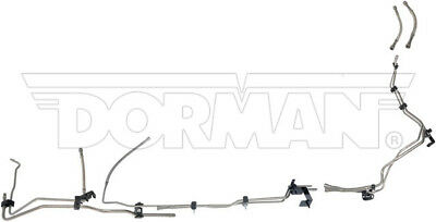 04-10 GM 2500HD/3500HD Ext Cab 6.6L Duramax Complete Fuel Line Kit; Stainless 2500 Hd Ext Cab