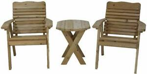 Amish made solid cedar wood bistro set - Free Shipping