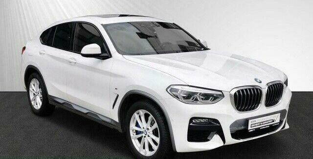 BMW X4 X4 xDrive20d Msport-X pelle totale tetto panorama