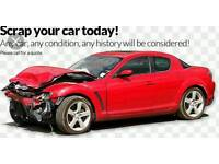 Scrap cars wanted 🚗🚗🚗
