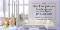 Home Care Services and House Cleaning