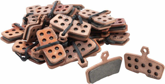 SRAM Disc Brake Pads - Sintered Compound, Steel Backed, Powerful, For Code (2011