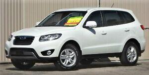 2012 Hyundai Santa Fe CM MY12 SLX CRDi (4x4) White 6 Speed Automatic Wagon Lismore Lismore Area Preview