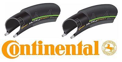 Continental Ultra Sport II Folding Bike Tire Pair Green 700x25c