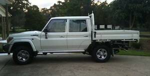 Heavy Duty Steel Tray for 79 Series Dual Cab 2016 Model Wamuran Caboolture Area Preview