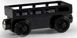 NEW-Thomas-Tank-Engine-BLACK-CARGO-CAR-Wooden-Railway