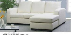 SALE ON NOW 2PC SECTIONAL WITH REVERSIBLE CHAISE $449  LOWEST PRICES GUARANTEED
