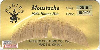 Blond Einfach Charakter Schnurrbart 100% Menschliches Haar Kostüm - Charakter Kostüm Einfach