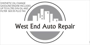 SYNTHETIC OIL CHANGES 69.95