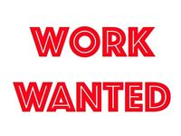 **Delivery driver - Work Wanted - Any type of job - Available now** Courier / Parcel / Food