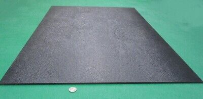 Black Abs Sheet 14 .236 X 24 X 36 Haircell Textured One Side