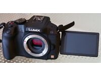 Panasonic G6 camera, excellent condition
