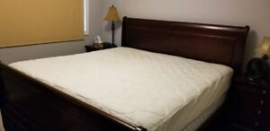 King Size Sleigh Bed Frame-Excellent Condition