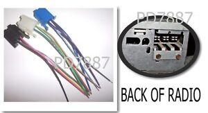 gm delco 3 connector radio wire harness 78 93 corvette. Black Bedroom Furniture Sets. Home Design Ideas