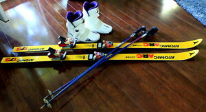 Skis, Bindings, Boots, Poles