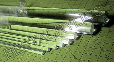 14 Pcs Combo 18 14 X 12 Long Clear Acrylic Plexiglass Lucite Plastic Rods