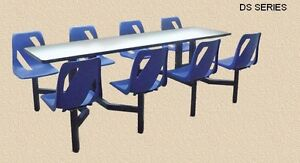 CLUSTER SEATING. CAFETERIA SEATING.LUNCHROOM TABLES & CHAIRS Kitchener / Waterloo Kitchener Area image 4