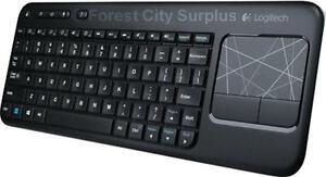 ADD A TOUCHPAD TO YOUR COMPUTER FOR MORE CREATIVE POSSIBILITIES - LOGITECH WIRELESS KEYBOARD