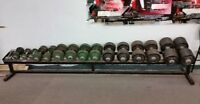 760 lb of dumbbells for trade or sell for $550