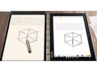 Lenovo Yoga Book, Android, Gun Metal, As New + Screen protectors