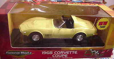 1968 Corvette Safari Yellow 1:18 Ertl American Muscle 33147