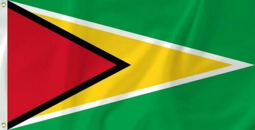The Guyana Flag, The Golden Arrowhead, 3 X 5 ft, BRAND NEW !