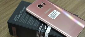 Brand new Samsung Galaxy S7 Edge in Rose Gold Unlocked - £350 or nearest offer!