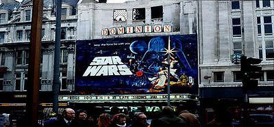 Die Star Wars Premiere in London fand 1977 im Dominion Theatre statt