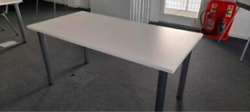Various sized tables square and rectangle