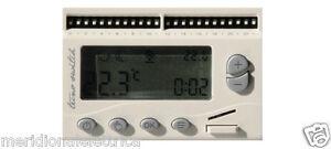 Cronotermostato digitale giornaliero incasso botticelli for Tecnoswitch cronotermostato istruzioni