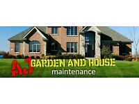 AJ HOUSE AND GARDEN MAINTENANCE AND REPAIRS ALL JOBS UNDERTAKEN.