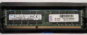IBM 8Gb DDR3 1333MHz PC3-10600 Reg ECC 47J0136 / FRU 49Y1415 $50
