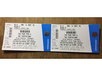 The Four Tops & Temptations Tickets x 2
