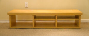 Birch Ikea TV bench and table - best offer