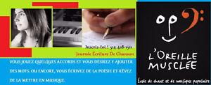 Journée Écriture De Chanson retour en 2017 West Island Greater Montréal image 1