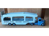 Dinky pullmore car transporter superbly restored