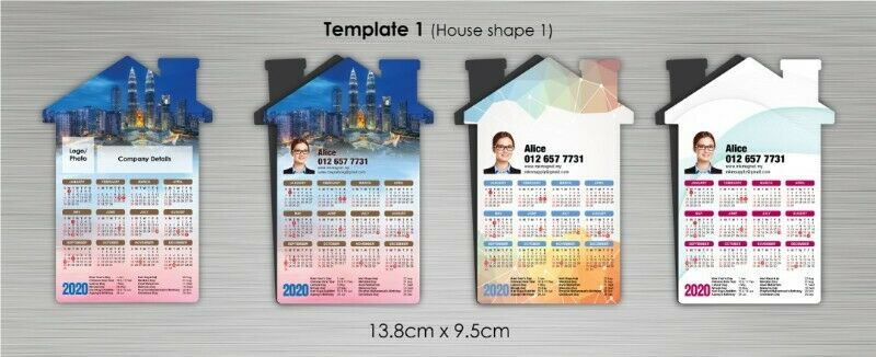 Property Agent Use Calendar  , Magnetic calendar