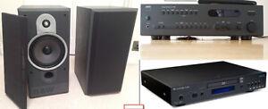 Système de son haute fidélité NAD Cambridge Audio B&W Atlantis