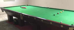 1960 Fully Refurbished Snooker Table $1000.00 OBO