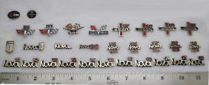 30 Chevy Pins Classic Chevrolet Emblem Patch GM Shirt Hat Tie Vi