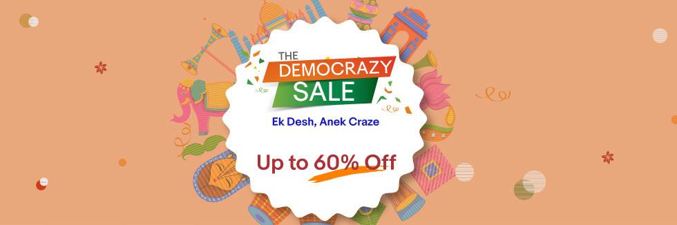 The #Democrazy Sale