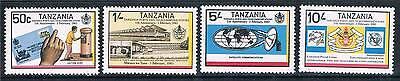 Tanzania 1983 Posts & Telecoms SG 370/3 MNH