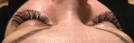 Eyelash extensions - Christmas promotion