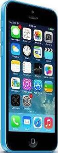 iPhone 5C 8 GB Blue Unlocked -- 30-day warranty, blacklist guarantee, delivered to your door