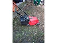Electric Power Devil Lawn Mower