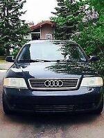 AUDI A6 AWD QUATTRO! TURBO! AFTERMARKET RIMS/SUBS! 3000$