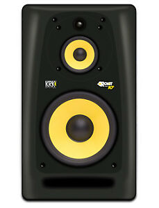 KRK Rokit 10 Gen3 studio monitors, stands and Iso Pads