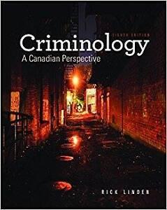 Criminology 8th edition, Rick Linden